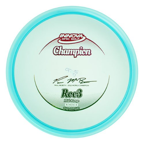 Innova Disc Golf Champion Material Roc 3 Golf Disc, 170-174gm,  (Colors may - Range Disc Golf Roc Mid