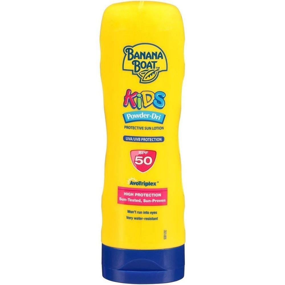 Banana Boat Kids Powder-Dri Sun Cream SPF 50 240ml