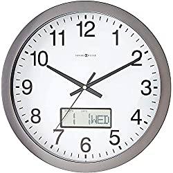 Howard Miller Chronicle Wall Clock 625-195 - Modern & Round with Quartz Movement