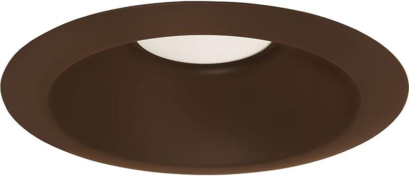 Amazon Com Progress Lighting P8071 20 30k Recessed 6 Led Round Retrofit Antique Bronze Home Improvement