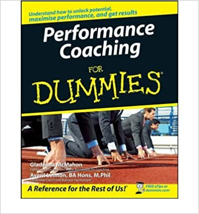 [ PERFORMANCE COACHING FOR DUMMIES BY LEIMON, AVERIL](AUTHOR)PAPERBACK