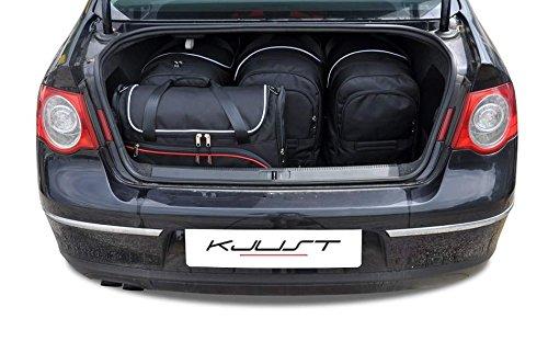 CAR BAGS AUTO TASCHEN MASSTASCHEN ROLLENTASCHEN VW PASSAT SEDAN, B6, 2005-2010 - KJUST