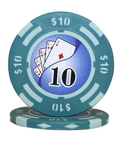 Yin Yang Poker Chips - 7