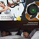 SMAWATCH SMA-09 1.28 Inches Bluetooth Calling Music Playing Heart Rate Monitoring Smart Watch