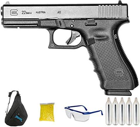 Umarex – G-22 Gen4 | Pistola de Airsoft Calibre 6mm (Arma Aire Suave de Bolas de plástico o PVC). Sistema: CO2 <3,5J