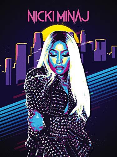 777 Tri-Seven Entertainment Nicki Minaj Poster Music Wall Art Print (18x24)