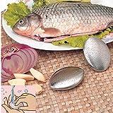 Fiesta Chef SoapStainless Steel Kitchen Bar Odor Remover Garlic/Onion Etc Smells Kitchen Gadget Tool 6.2 * 4.2cm: China