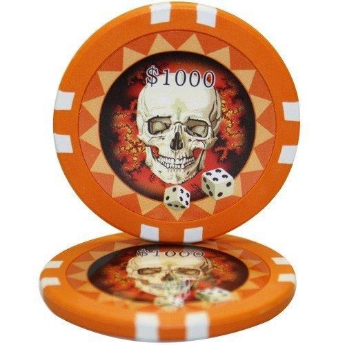 50 $ 1000 Skull CasinoクレイComposite 50 1000 13.5グラムポーカーチップ $ B01D7U0VZI, スニーカーシュープラネット:e0d08714 --- itxassou.fr