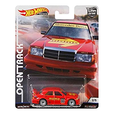 2020 Hot Wheels Car Culture Open Track '16 Mercedes-Benz 190E 2.5-1.6: Toys & Games
