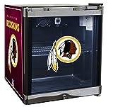 Appliances : Glaros Officially Licensed NFL Beverage Center / Refrigerator - Washington Redskins