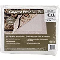 Con-Tact Rug Pad 5x8, Non-Slip Area Rug Pad for Carpet over Carpet, Miracle Hold