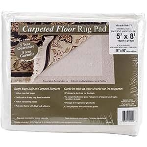Amazon Com Con Tact Rug Pad 5x8 Non Slip Area Rug Pad