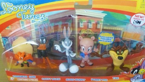 looney-tunes-figure-5-pack-yosemite-sam-daffy-duck-bugs-bunny-porky-pig-and-taz