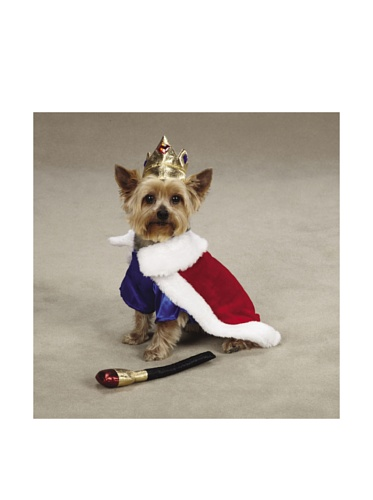 Zack & Zoey Royal Pup Dog Costume, X-Large, Red/Blue by Zack & Zoey (Image #1)