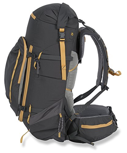 Mountainsmith Lariat Backpack, Anvil Grey, 65 L
