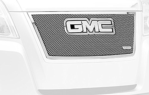 TRex Grilles 54153 Upper Class Small Formed Mesh Stainless Polished Finish Grille Overlay for GMC Terrain T REX