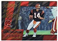 2017 Panini Absolute Unsung Heroes Retail Version #1 Ken Anderson Bengals