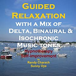 Guided Relaxation with a Mix of Delta Binaural Isochronic Tones