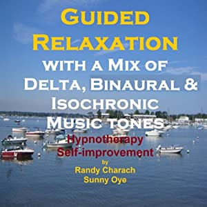 Guided Relaxation with a Mix of Delta Binaural Isochronic Tones Speech