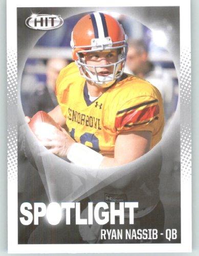 2013 Sage Hit Football Card #79 Ryan Nassib SL / Syracuse - New York Giants (Spotlight) NFL Trading - Syracuse America Ny Store
