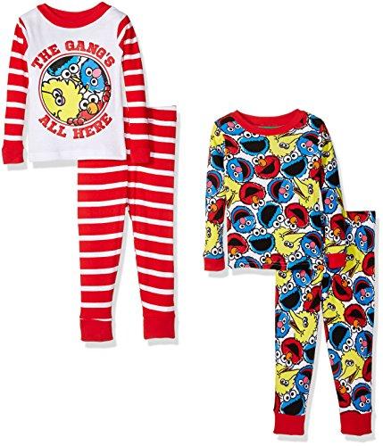 Sesame Street Toddler 4 Piece Cotton