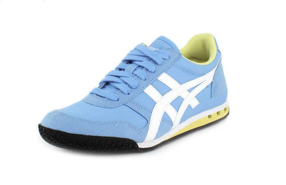 Onitsuka Tiger Womens Ultimate 81 Sneaker B07FDL7BNV 9.5 B(M) US|Blue Bell/White