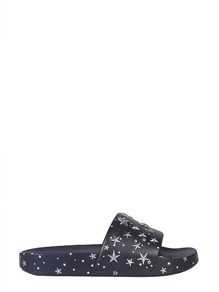 a58fe3b578e7 Tory Burch Women s 52143403 Blue PVC Sandals  Amazon.co.uk  Shoes   Bags