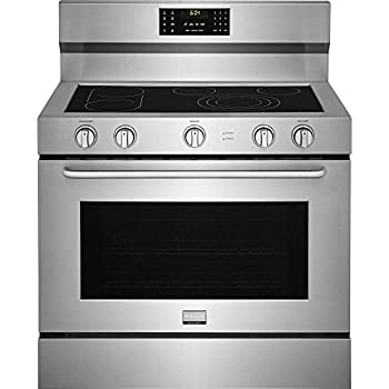 "Amazon.com: Verona VEFSEE365SS 36"" Electric Range with 4 cu. ft. European Convection Oven Black"