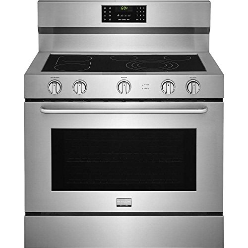 Frigidaire FGEF4085TS Gallery Series 40 Inch Freestanding Electric Range with 5 Elements, 6.4 cu. ft. Primary Oven Capacity, in Stainless Steel