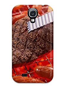 Hxy SLybOfx1055rwThj Protective Case For Galaxy S4(barbecue) by lolosakes