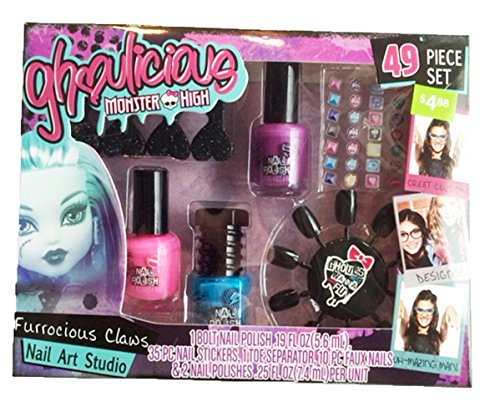 Monster Nail High (Monster High Ghoulicious Nail Art Studio)