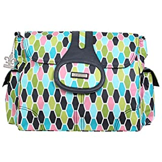 Kalencom Elite Diaper Bag, Honeycomb Green