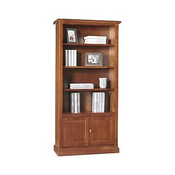 Giò Luxury Libreria, Stile Classico, In Legno Massello E Mdf Con ...