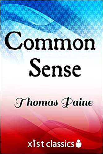 "The cover of ""Common Sense."""