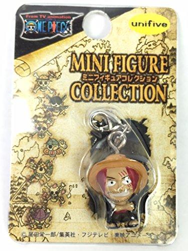 Shanks - One Piece Unifive Classic Micro Zipper Figure Mascot Fastener