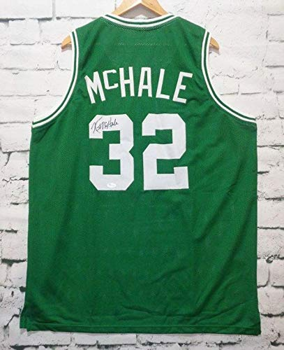 - Kevin McHale Signed Autographed Boston Celtics Green Basketball Jersey - JSA COA