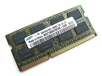 Samsung M471B5673FH0 - CH9 2 GB 1,5 V 204 pin SODIMM 2Rx8 PC3 - 10600S - ordenador portátil 09-10-f2 1333 mhz DDR3/memoria para portátiles: Amazon.es: ...