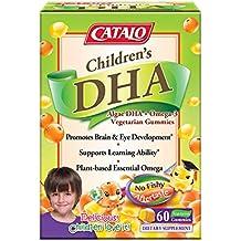 CATALO - Chidlren's Algae DHA + Omega 3 Vegetarian Gummies