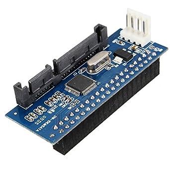 Ocamo 40 Pin 3.5 IDE a 7 + 15 22 SATA Adaptador Macho SATA ...
