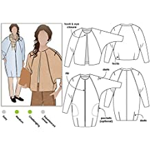 Style Arc Sewing Pattern - Alegra Jacket or Coat (Sizes 04-16) - Click for Other Sizes Available