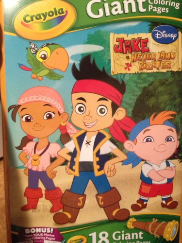 Jake The Pirate Coloring Pages (Disney Jake and the Neverland Pirates 18 Giant Coloring)