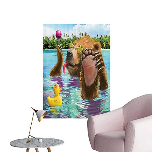 Wall Painting Wild in The Sea by The ACH with its Sunglass Candies High-Definition Design,24