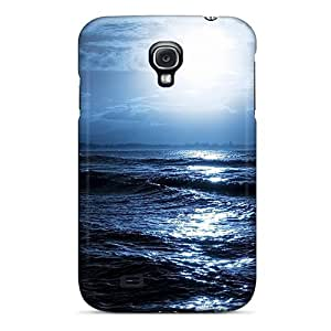Slim Fit Tpu Protector Shock Absorbent Bumper Daylight At Sea Case For Galaxy S4