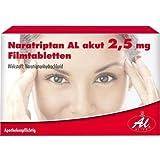 NARATRIPTAN AL akut 2,5 mg Filmtabletten 2St