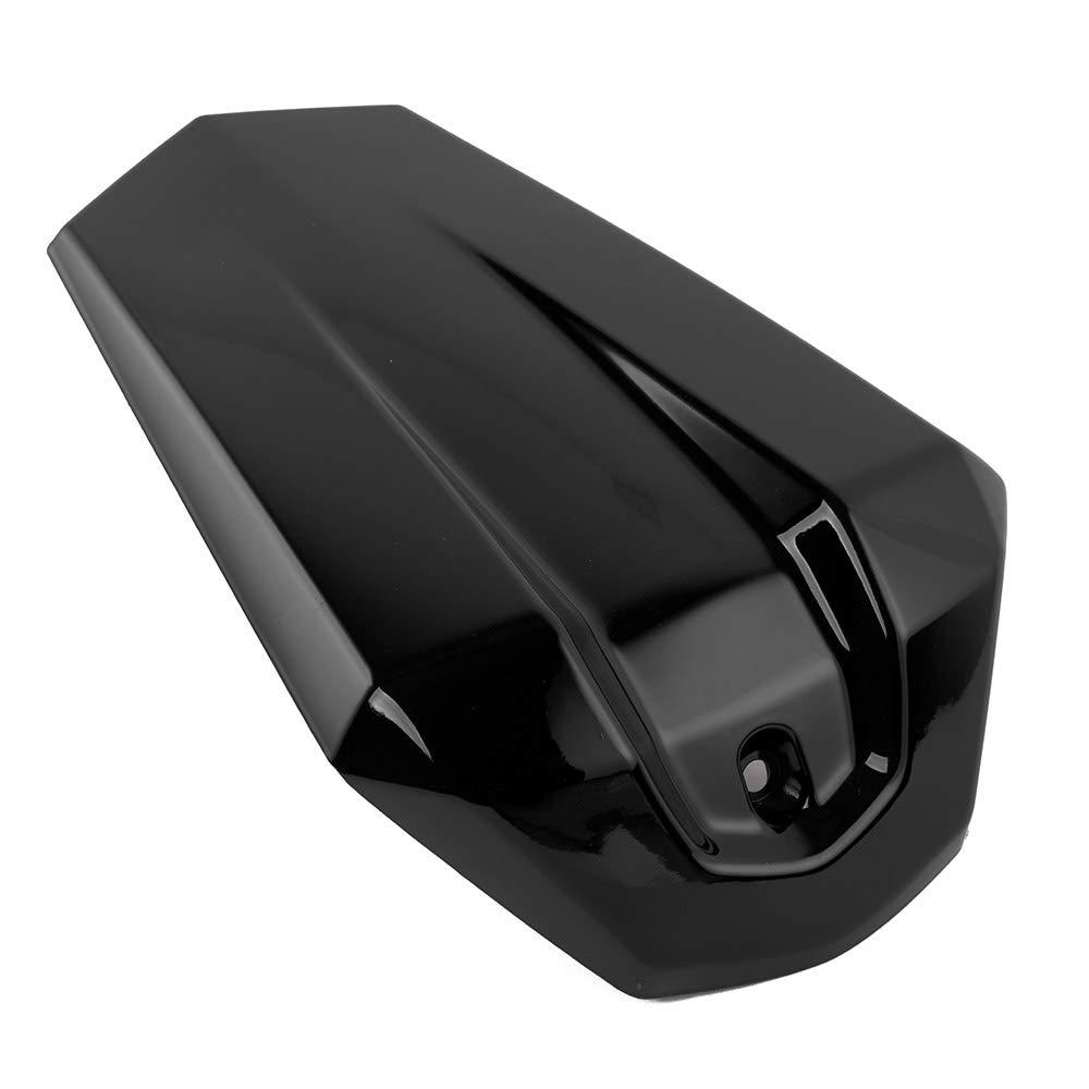 black Rojo azul negro pl/ástico ABS R125 asiento del pasajero trasero solo cubierta del asiento Capucha Pillion Trim Para Yamaha YZF R125 R 125 2015 2016 cubierta del asiento