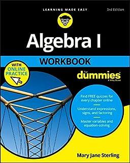 Algebra i essentials for dummies mary jane sterling 9780470618349 algebra i workbook for dummies fandeluxe Images