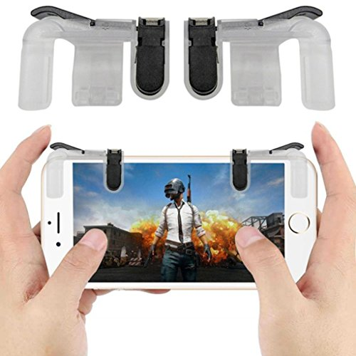 Royale Handle - Gbell Mobile Phone Gaming Trigger Fire Button Handle for L1R1 Shooter Controller PUBG for Survivor Royale, PUBG Mobile (A)