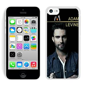 Adam Levine White Case Cover for iPhone 5C Grace and Cool Design