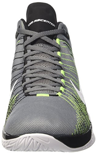 Grey Ascention volt black Zoom Basket Cool Uomo Nike Scarpe Gris White da 8n6OaRW