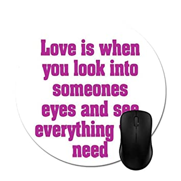 Amazoncom Cute Love Quotes For Himmotivational Quote Mouse Pad 8